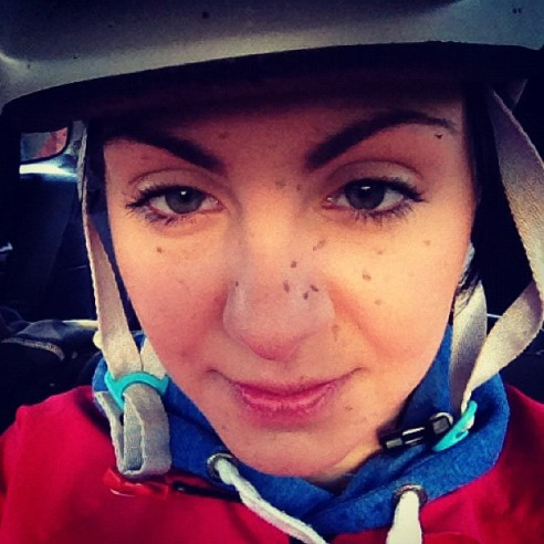If your face isn't muddy, you haven't ridden hard enough!