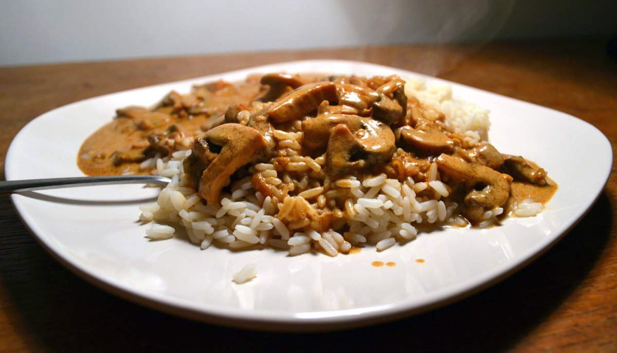 Recipe #14: Super speedy mushroom stroganoff | My Food ...