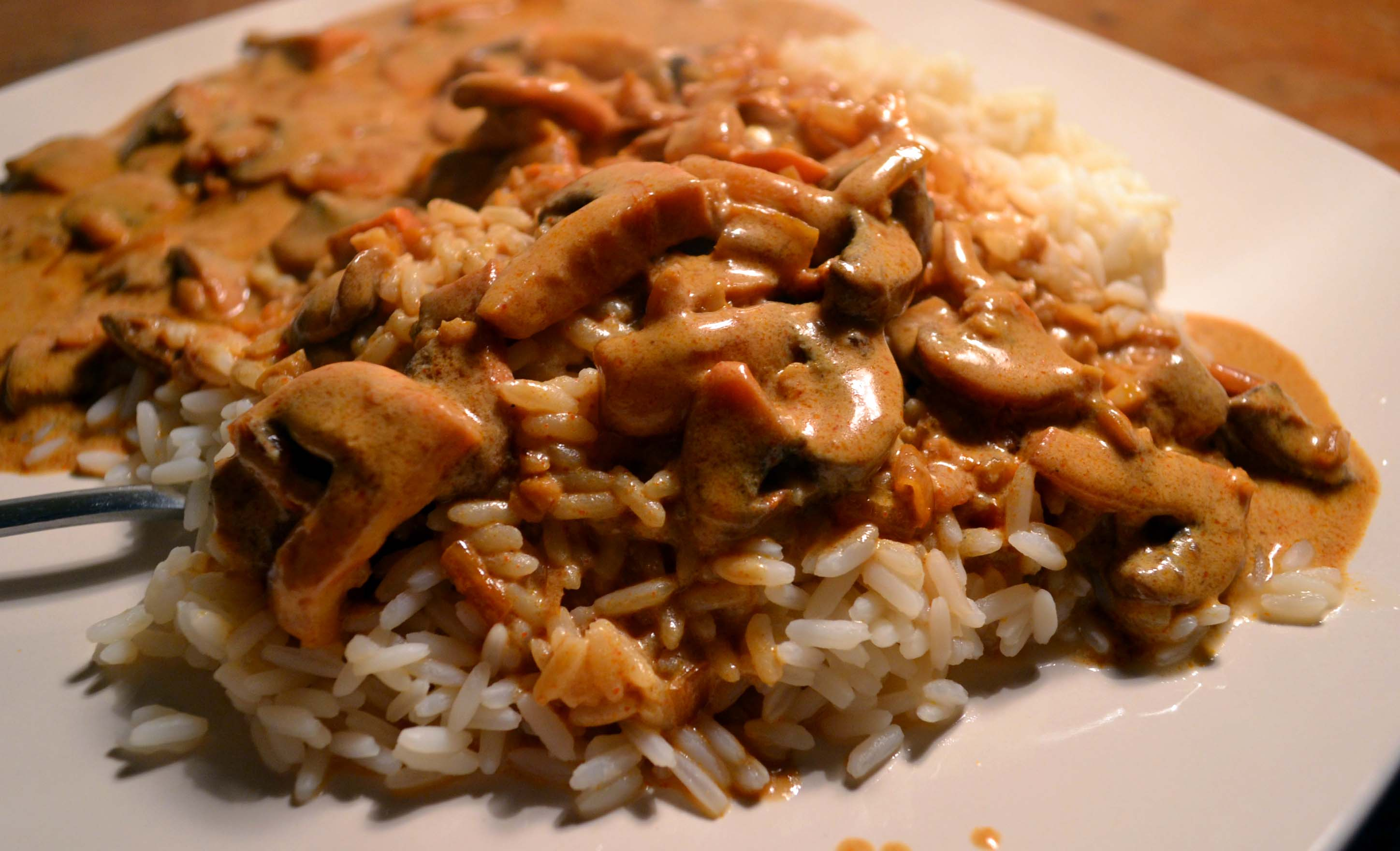 Recipe #14: Super speedy mushroom stroganoff | My Food Challenge