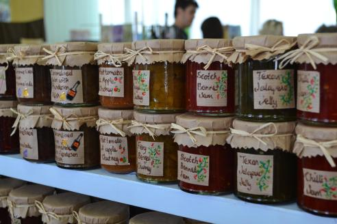 Home-grown. Home-made. Home-packaged. Love this - more on my blog soon...
