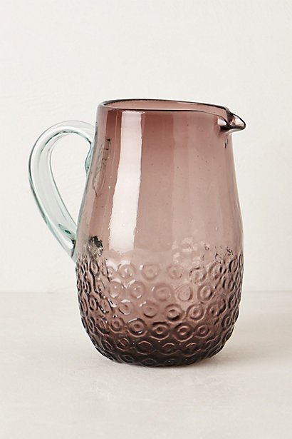 Arrondi pitcher - this would be lovely for having guests ove...
