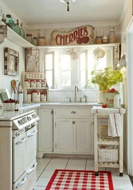 I also love the idea of a French inspired country kitchen...