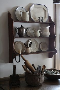 LOVE this shelving!
